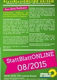 StattBlattONLINE 08/2015