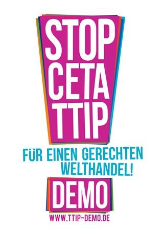 Für einen gerechten Welthandel! CETA & TTIP stoppen!