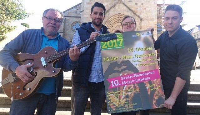 Nachwuchsmusiker gesucht – Grüne laden zum 10. Green-Newcomer Music-Contest ein