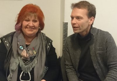 Elke Marita Stuckel-Lotz und Bert Wagener