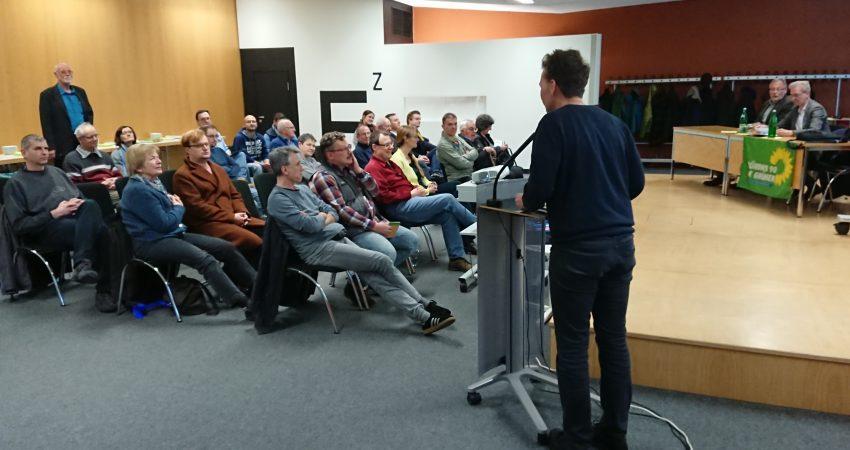 Publikum und Redner