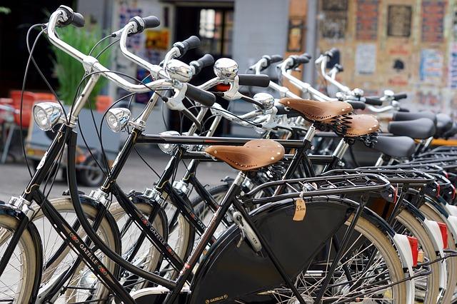 Radstation in der Altstadt als wichtiges Signal