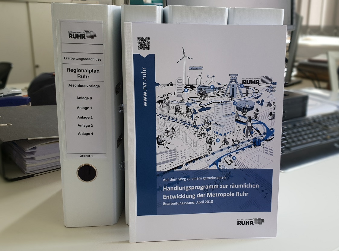 Stellungnahme der Stadt zur Aufstellung des Regionalplans Ruhr