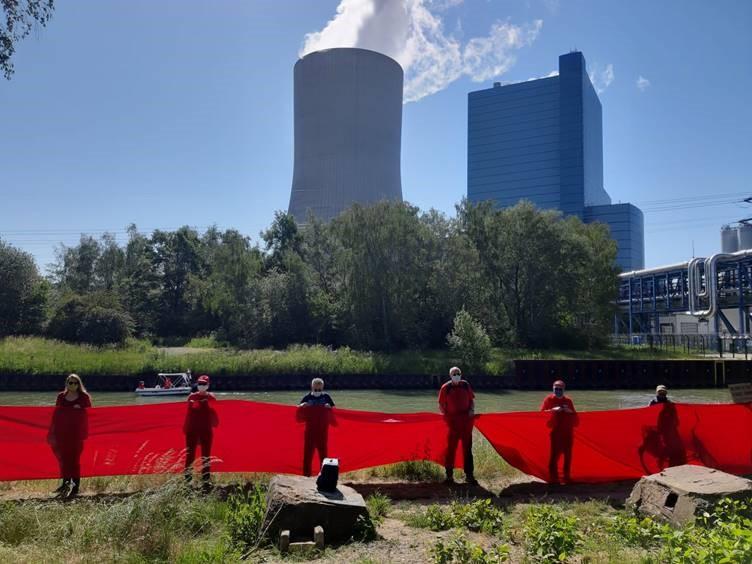 """""""Rote Linie"""" gegen Datteln 4"""