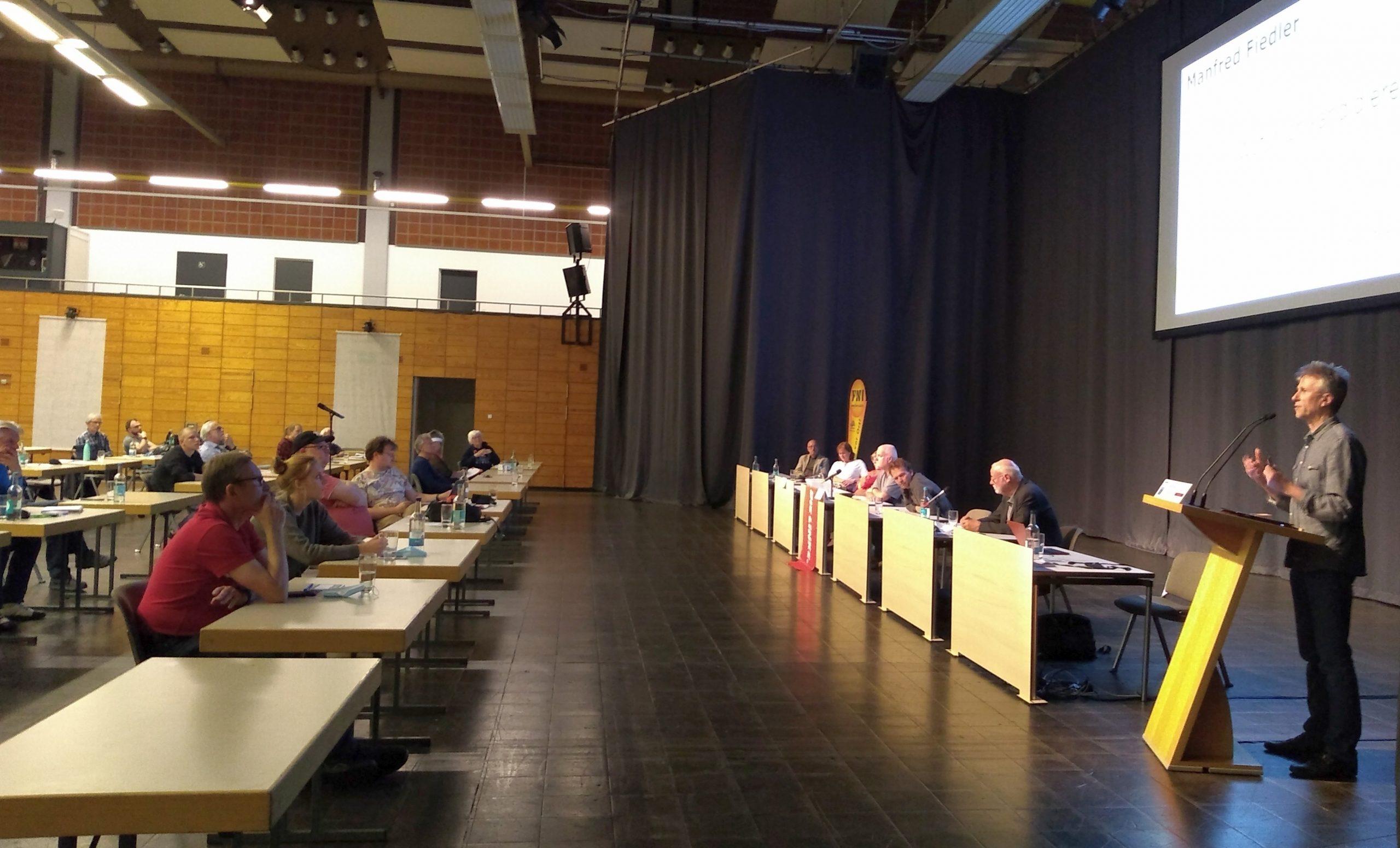 Manfred Fiedler als Bürgermeisterkandidat gewählt