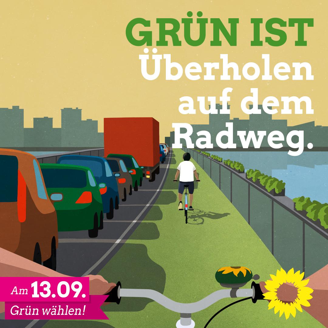 Mehr Rücksicht für umweltfreundliche Mobilität