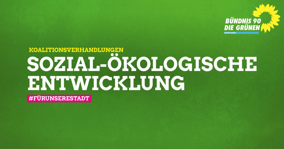 Grüne und SPD beginnen Koalitionsverhandlungen