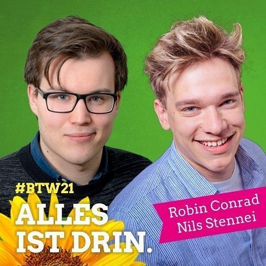 Robin und Nils