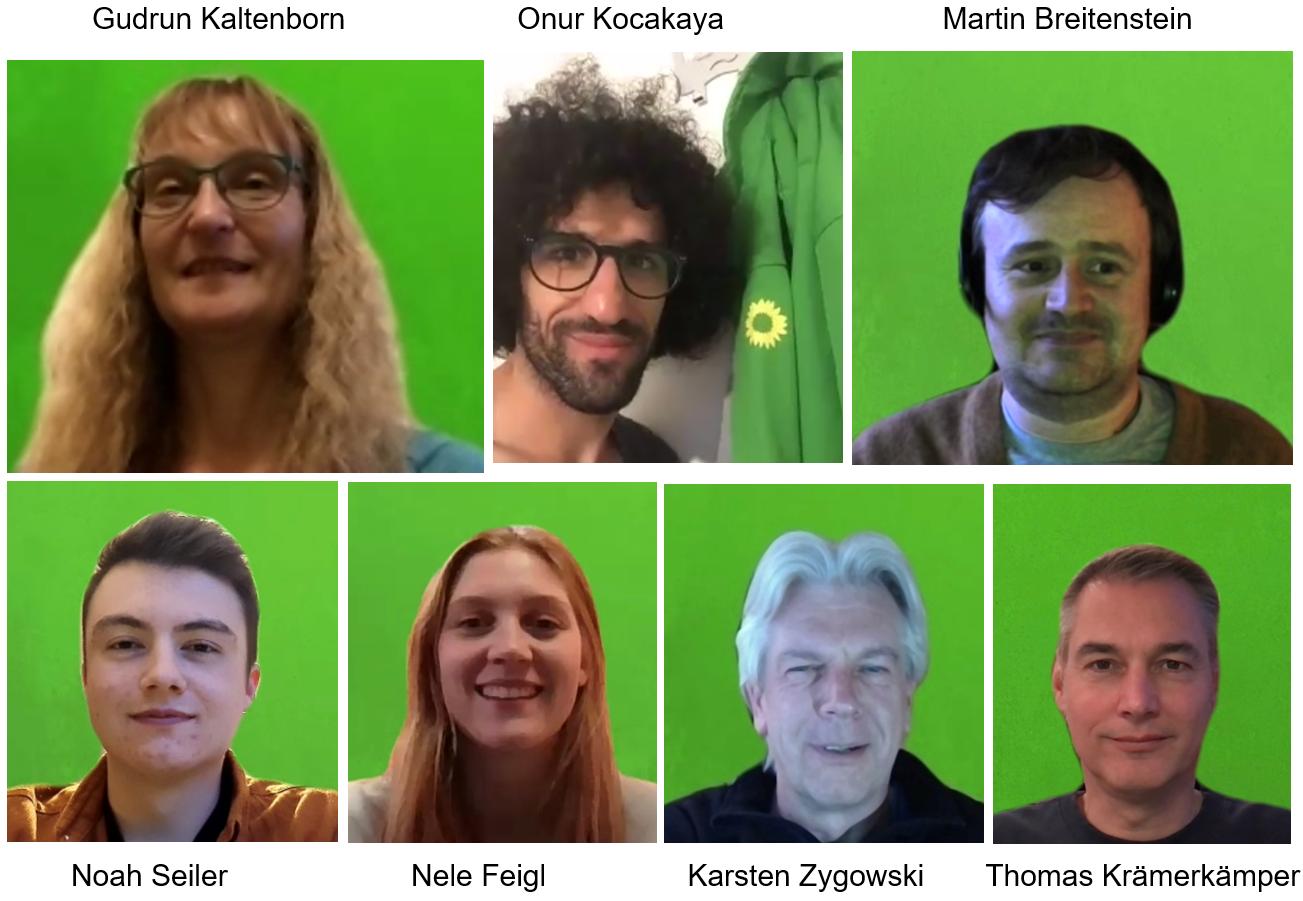 Grüner Stadtverband wählt neuen Vorstand